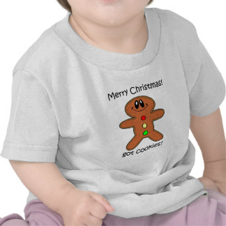 gingerbread man Christmas Tee Shirt