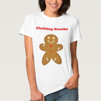 Gingerbread Man Clothing Snacks T Shirt