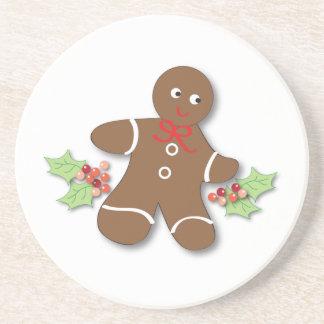 Gingerbread Man Coasters