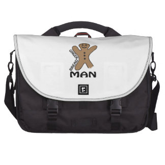 Gingerbread Man Computer Bag