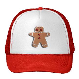 Gingerbread Man Cookie Cap
