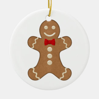 Gingerbread Man Cookie Christmas Holiday Ornament
