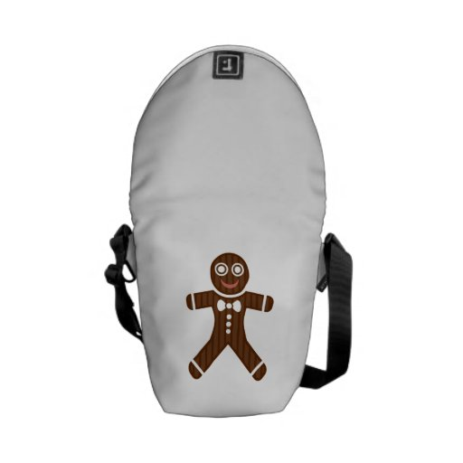 Gingerbread Man Cookie Messenger Bag