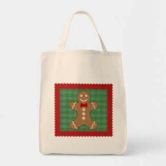 Gingerbread Man Cookie Tote Bag