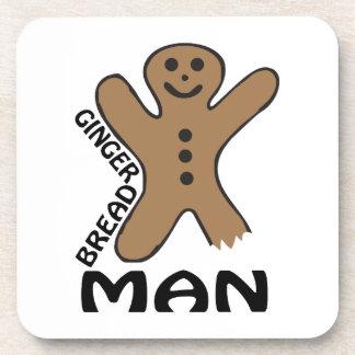 Gingerbread Man Drink Coaster