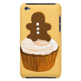 Gingerbread man cupcake iPod Touch case