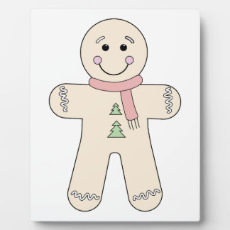 Gingerbread man for Christmas Plaque