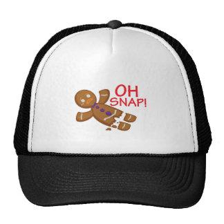Gingerbread Man Hats