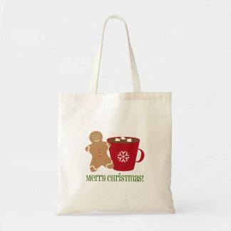 Gingerbread Man & Hot Chocolate Christmas Bag