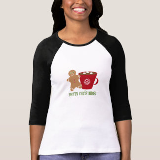 Gingerbread Man & Hot Chocolate Christmas Shirt