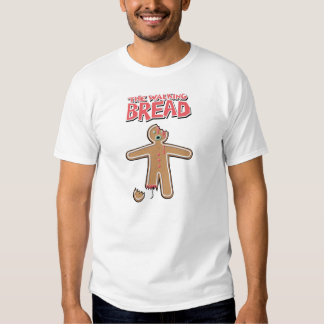 Gingerbread man Ironic Crime scene 'CRUMBS' Shirt