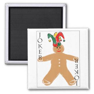 Gingerbread Man - Joker Refrigerator Magnets