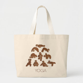 Gingerbread Man Jumbo Tote