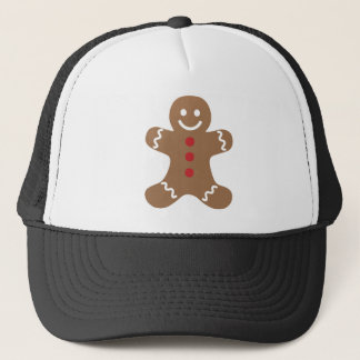 Gingerbread Man Kids, Candy, Cookies, Fun! Sweet Trucker Hat