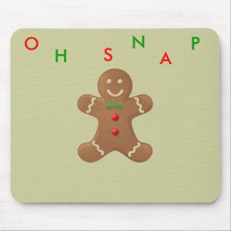 gingerbread-man mouse mat