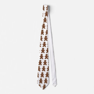 Gingerbread Man Neck Tie
