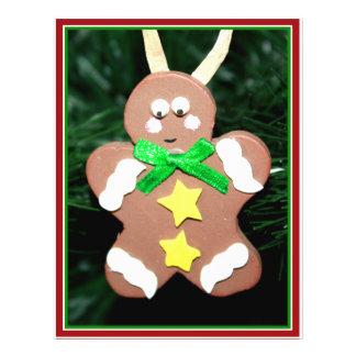 Gingerbread Man Ornament Custom Flyer