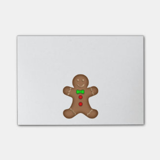 GingerBread Man Post-it Notes