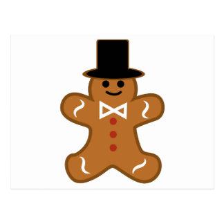 Gingerbread Man Postcard