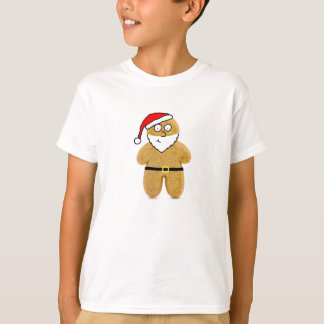 gingerbread man santa T-shirt