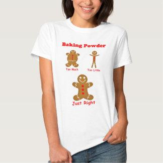 Gingerbread Man The Magic of Baking Powder T Shirts