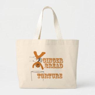 Gingerbread Man Torture Bizarre Humor Bags