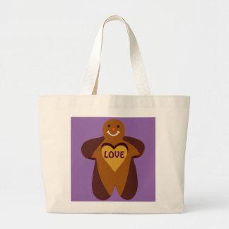 Gingerbread Man Tote Bag