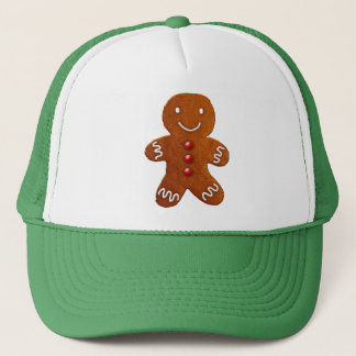 Gingerbread Man Trucker Hat
