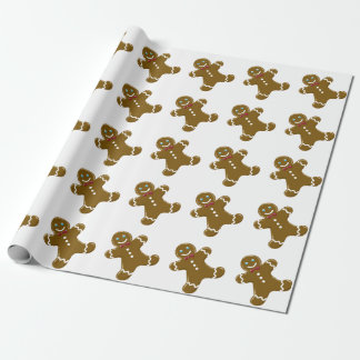 Gingerbread Man Wrapping Paper