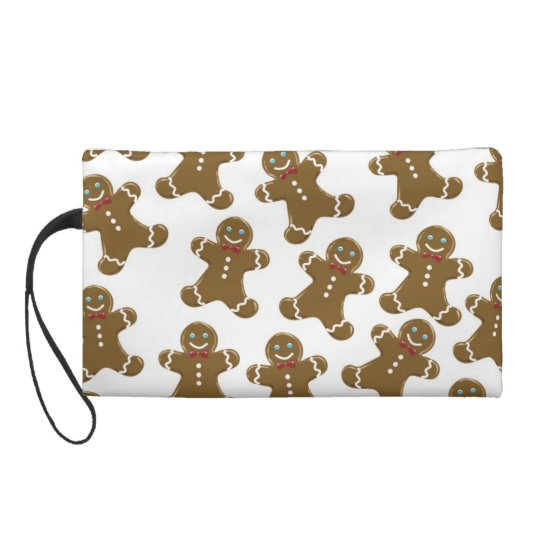 Gingerbread Man Wristlet