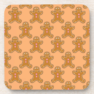 Gingerbread Men Beverage Coaster