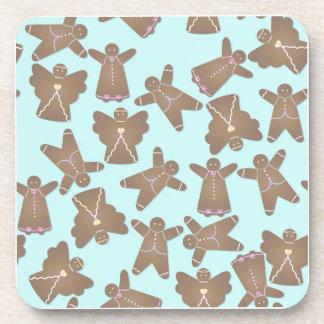 Gingerbread Men Beverage Coasters