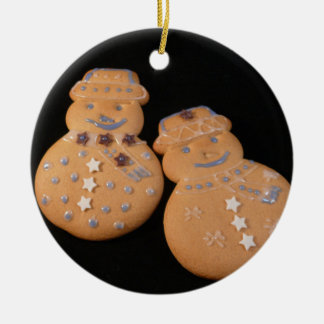 Gingerbread Men Christmas Ornament