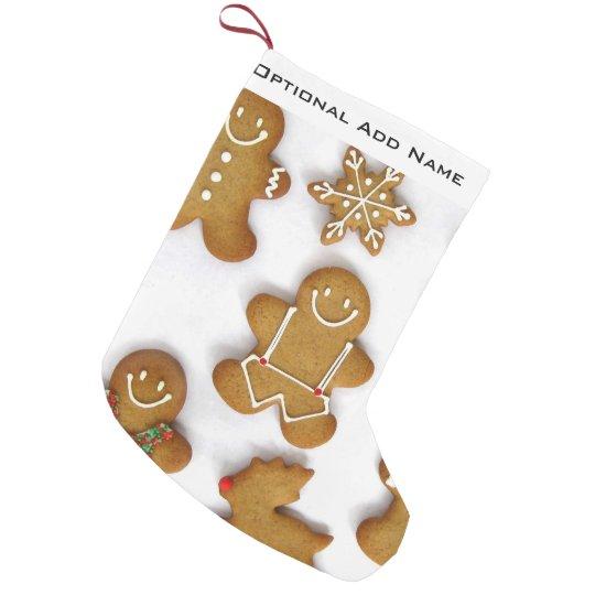 Gingerbread Men Christmas Stocking