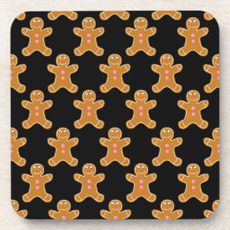 Gingerbread Men Drink Coaster
