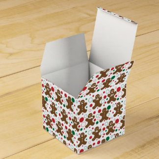 Gingerbread Men Favor Box