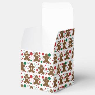 Gingerbread Men Favor Box Favour Boxes