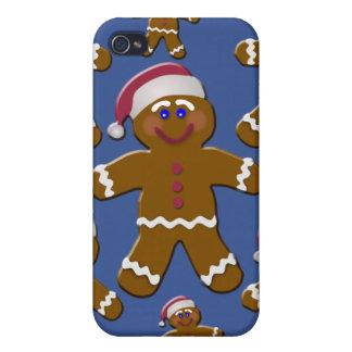 Gingerbread Men iPhone 4 Covers