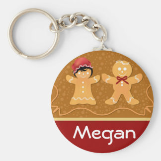 Gingerbread Men Keychain