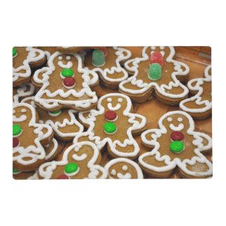 Gingerbread Men Laminated Placemat