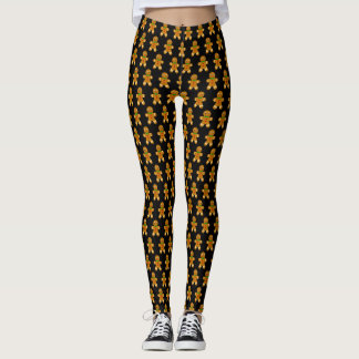 Gingerbread Men Leggings