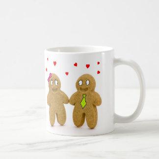gingerbread men love mug