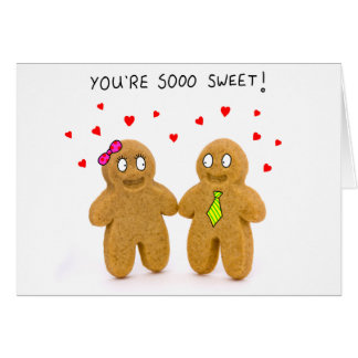 gingerbread men valentines card