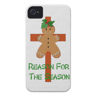 Gingerbread On A Cross Case-Mate iPhone 4 Cases