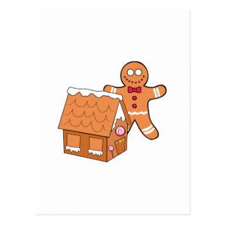 Gingerbread Postcard