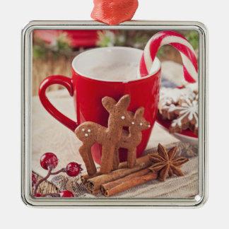 Gingerbread Reindeer Cookies 2 Christmas Ornament