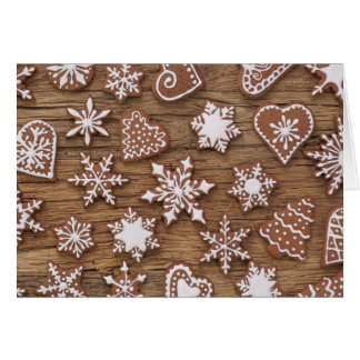 Gingerbread Reindeer Cookies Card