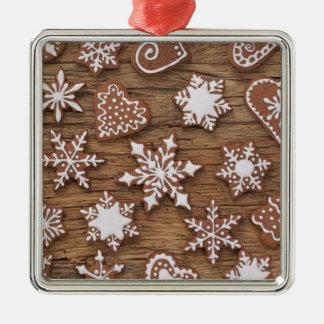 Gingerbread Reindeer Cookies Christmas Ornament