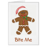Gingerbread Santa Card