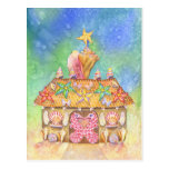 Gingerbread SeaCasa Post Card